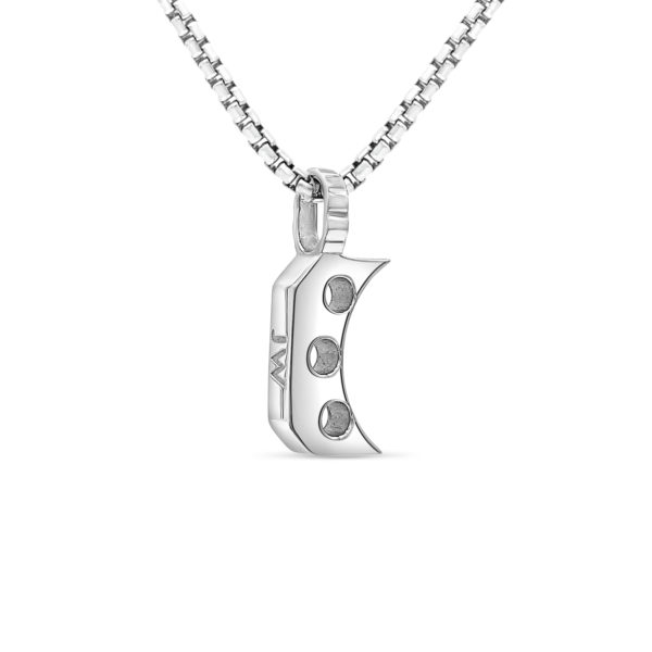 Joe Wall 1911 Trigger Necklace - Silver