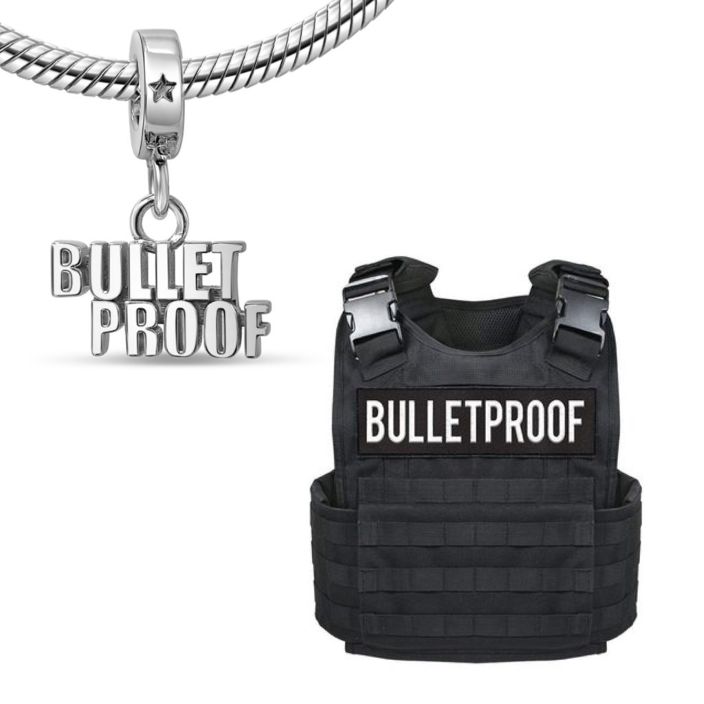 Joe Wall Bullet Proof Charm